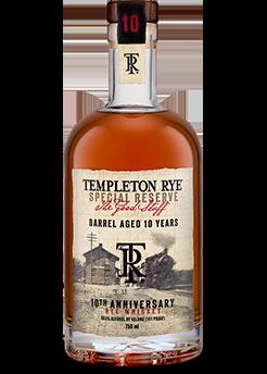Templeton Rye 10 Year
