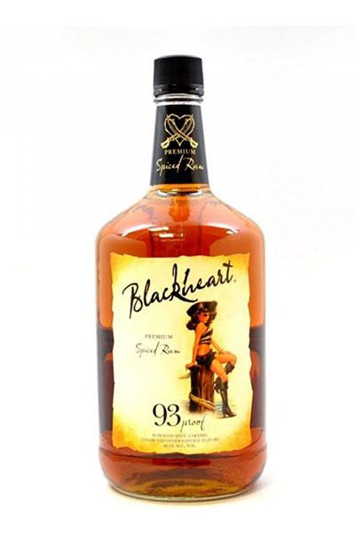 BlackHeart Spiced Rum 93 Proof