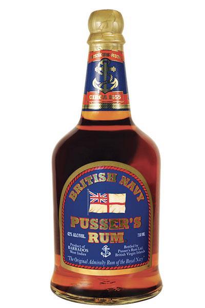 Pussers British Navy Rum 84 Proof
