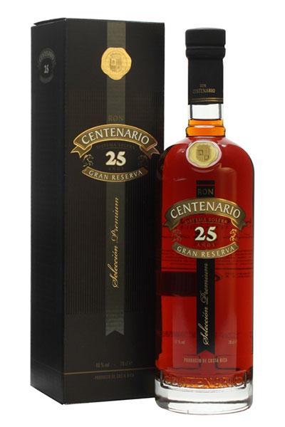 Ron Centenario Rum 25 Years Gran Reserva