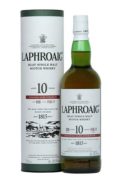 Laphroaig Cask Strength 10 Years