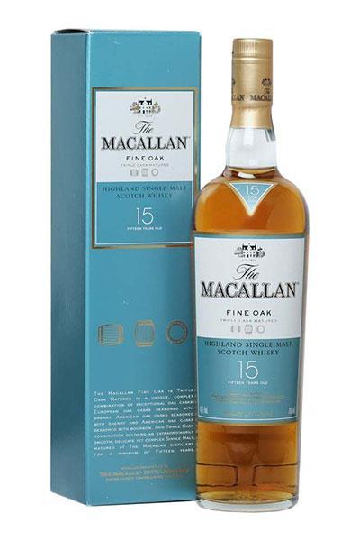 Macallan Fine Oak 15 Years