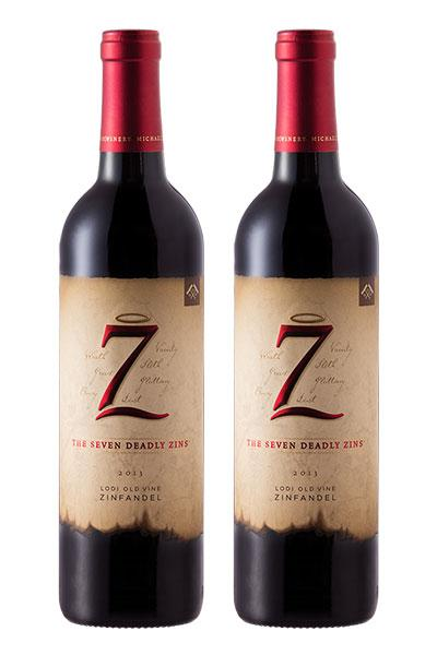 The Seven Deadly Zins Zinfandel 750ml x2