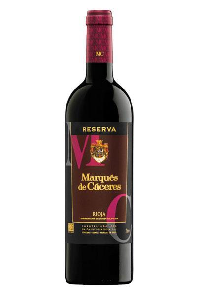 Marques de Cáceres Reserva 2012