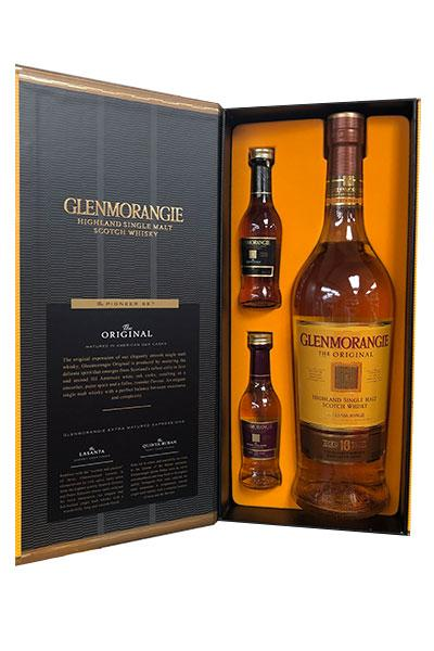Scotch Whisky Single Malt Aged 10 Years Glenmorangie Gift Set