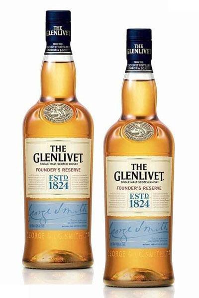 Glenlivet Founder's Reserve x 2
