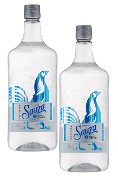 Sauza Silver Tequila x 2
