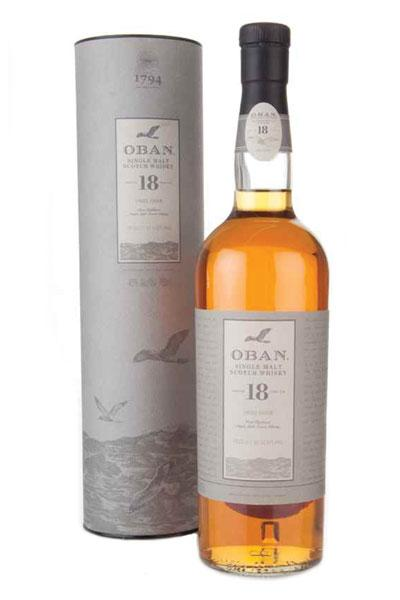 Oban 18 Years Single Malt