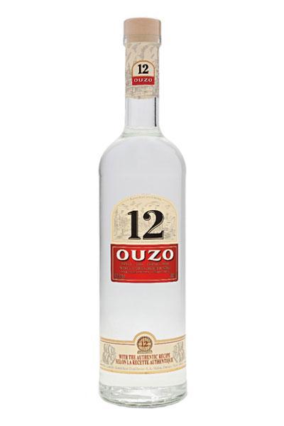 12 Ouzo Greek Anise
