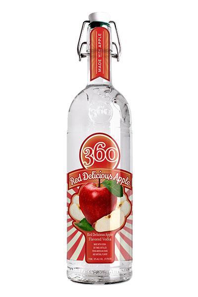 360 Red Delicious Apple Vodka