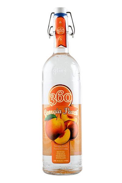 360 Georgia Peach Vodka