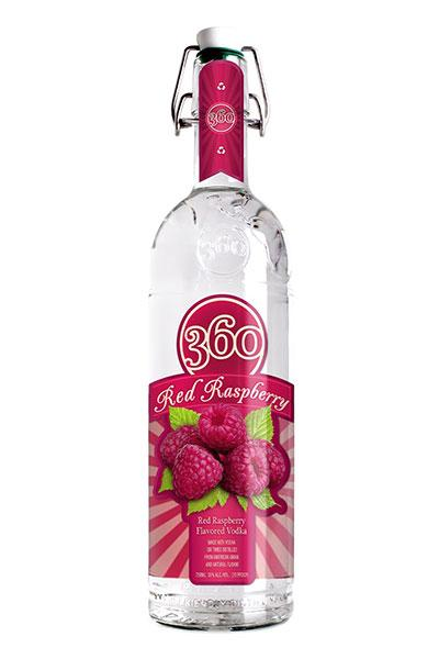 360 Red Raspberry Vodka
