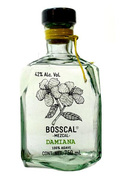 Bosscal Mezcal Damiana