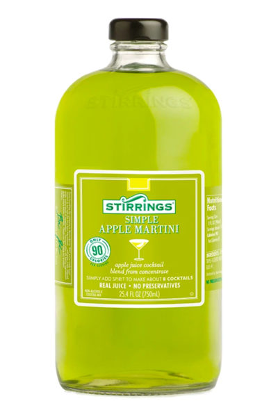 Stirrings - Apple Martini Mix 750ml