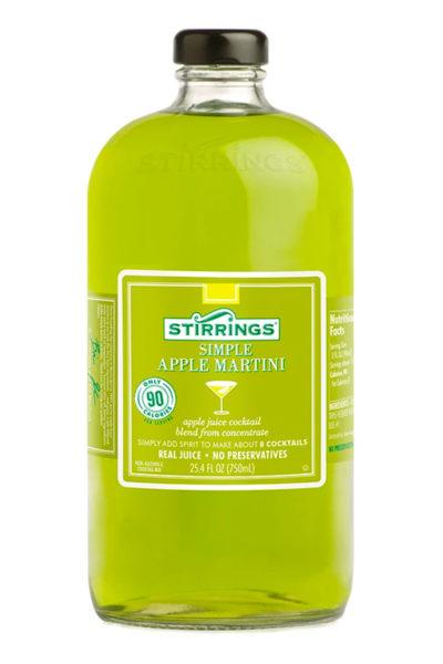 Stirrings - Apple Martini Mix 750ml