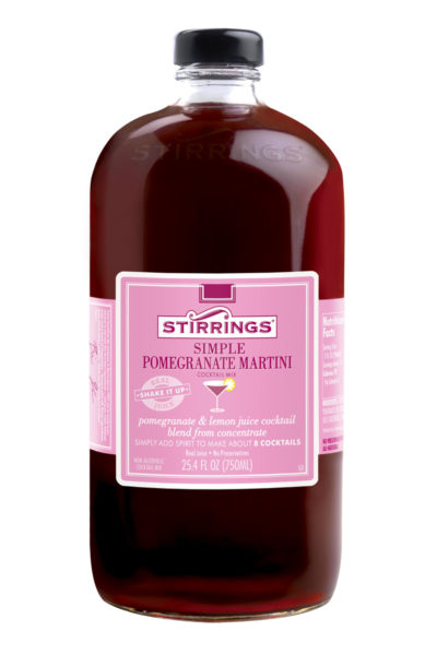 Stirrings - Pommegrante Martini