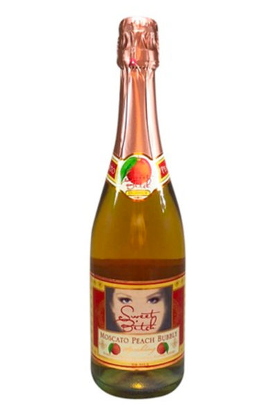 Sweet Bitch Moscato Peach Bubbly