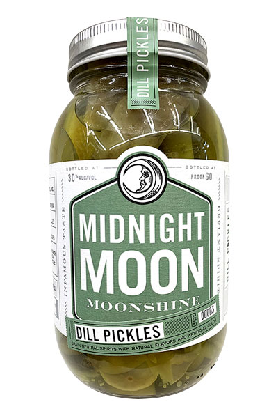 Midnight Moon Pickles Moonshine