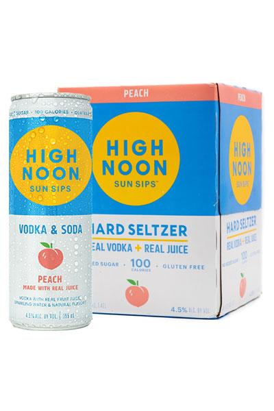 High Noon Hard Seltzer Peach