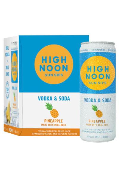 High Noon Hard Seltzer Pineapple