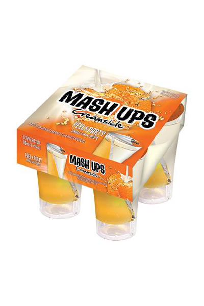 Mash Ups Single Serve Shots - Creamsicle
