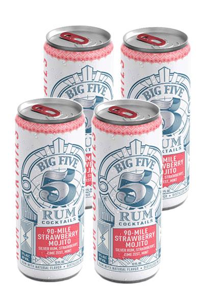 Big Five - 90 Miles Strawberry Mojito